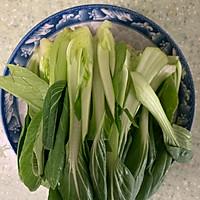 香菇油菜#秋天怎么吃#的做法图解2