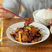 #肉食者联盟#盐煎肉|焦干香脆