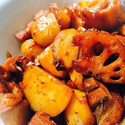 莲藕炖土豆