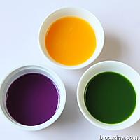 彩色饺子的做法图解1