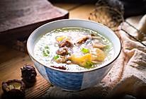 香菇鸡肉小米粥#做道好菜,自我宠爱!#的做法