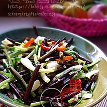 蕌头炒蕨菜