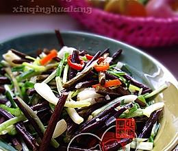 蕌头炒蕨菜的做法