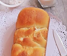 椰香手撕面包的做法