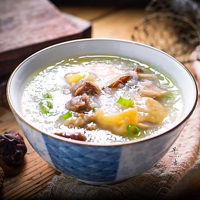 香菇鸡肉小米粥