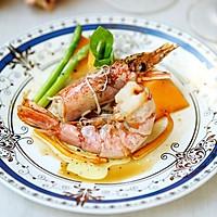 黑胡椒黄油虾#幸福的味道#