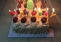 生日蛋糕8寸的做法