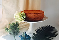 8寸可可戚风蛋糕胚#跨界烤箱 探索味来#的做法