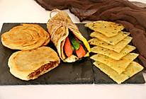 四种家常早餐饼的做法