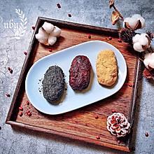 秋天的味道|和菓子三色萩饼( 3色おはぎ )#肉食者联盟#