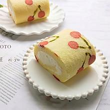 樱桃蛋糕卷