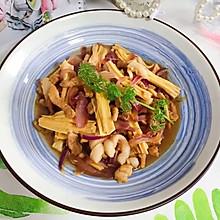 #餐桌上的春日限定#蚝油洋葱腐竹炒肉丝