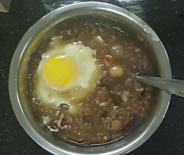 营养黑豆粥的做法