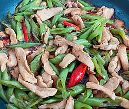 辣椒炒鸡胸肉-减脂餐版的做法
