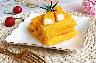 脆皮香草鲜奶条【炸/烤两种方法】