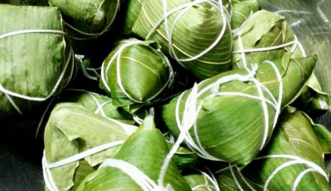 端午节的五花肉粽,附白粽子蜜枣粽做法!