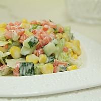 塑造A4腰的食谱——蔬菜沙拉的做法图解5