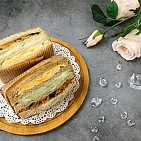 营养美味的芝士肉松三明治(含折纸法)的做法图解21