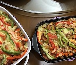 番茄鸡肉焗饭的做法
