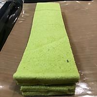 抹茶蛋糕夹心巧克力面包的做法流程详解5