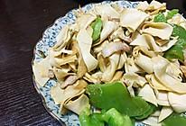 青椒干豆腐的做法