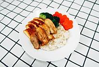 低脂蛋白餐之双拼照烧鸡肉饭#520,美食撩动TA的心!#的做法