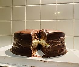 6寸巧克力奶油生日蛋糕的做法