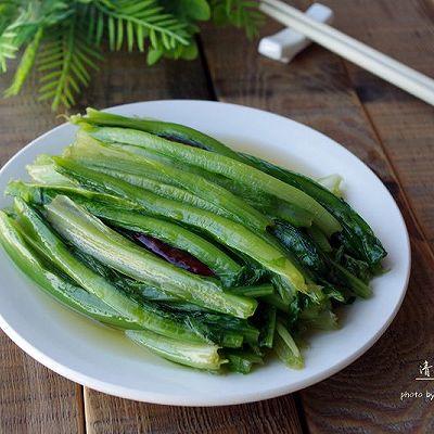 【节后清肠需吃草】清炒油麦菜