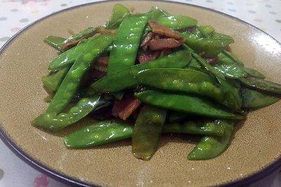 火腿荷兰豆