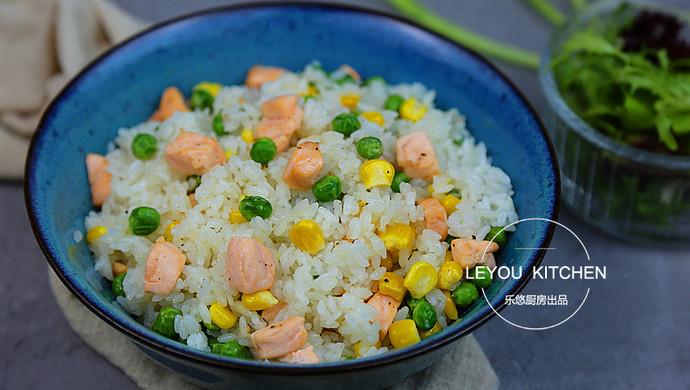 三文鱼炒饭