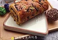 #安佳食力召集,力挺新一年#海苔香葱肉松卷的做法