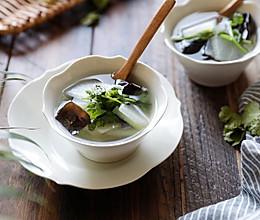 仙女瘦身汤-冬瓜木耳汤的做法