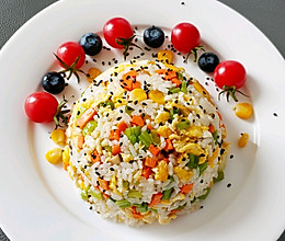 #憋在家里吃什么#蛋炒饭的做法