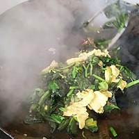 #网红美食我来做#菠菜炒鸡蛋的做法图解7