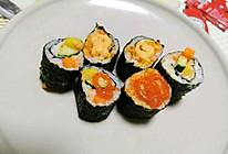寿司,紫菜包饭的做法