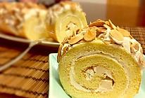 首次就能告捷的-奶油杏仁蛋糕卷的做法