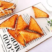 下午茶好搭档~蜂蜜酥脆吐司片#憋在家里吃什么#