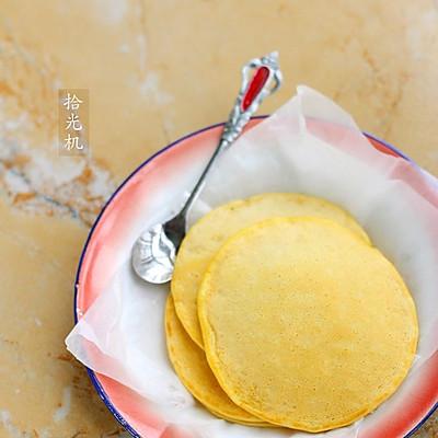 鲜奶玉米饼:利仁电饼铛试用