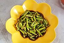泡蒜苔的做法