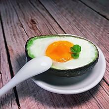 #安佳儿童创意料理#  牛油果蒸蛋