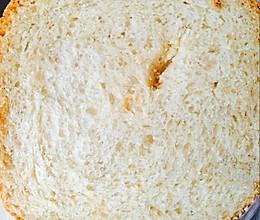 中筋粉面包也香软好吃(普通面粉)的做法