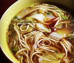 清汤挂面的做法