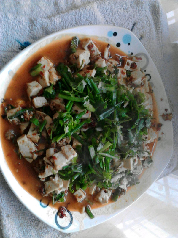 陈妈版麻婆豆腐的做法