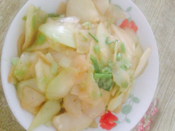 素炒芥菜头的做法