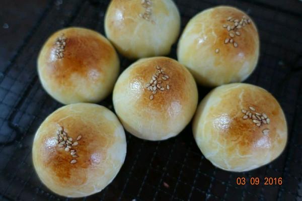 麻薯云腿蛋黄酥#约会MOF#的做法
