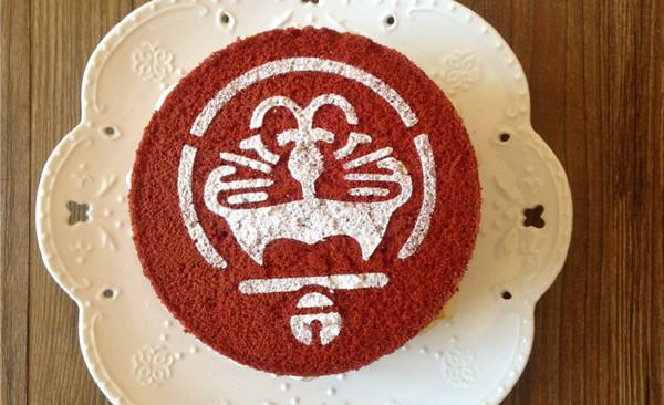 红丝绒机器猫裸蛋糕—长帝焙Man CRTF32K试用报告的做法