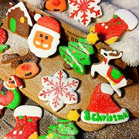 圣诞糖霜饼干#圣诞烘趴 为爱起烘#的做法图解30