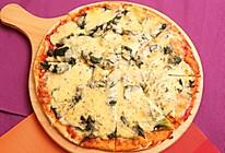 菠菜披萨的做法