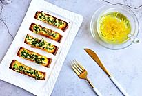#爽口凉菜,开胃一夏!#蒜香吐司条的做法