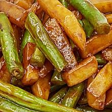 刀豆炒土豆